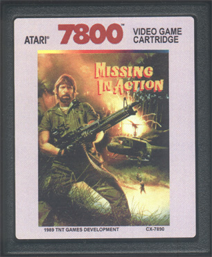 BACK HOME.  Missing In Action Poster