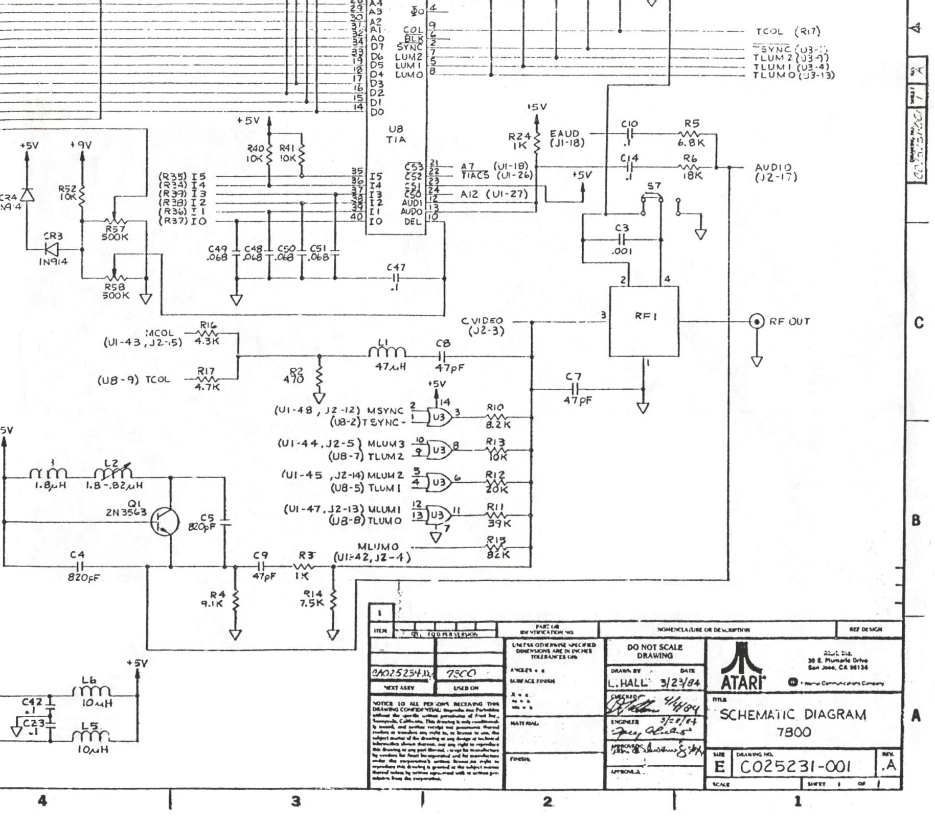 NTSClowerright atari schematics Western Joystick Controller Wiring Diagram at nearapp.co