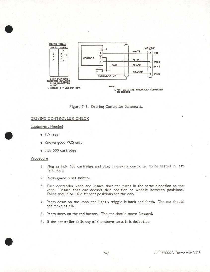 drivingschematic atari schematics Western Joystick Controller Wiring Diagram at nearapp.co